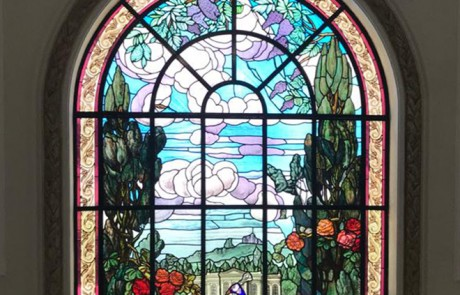 American stained glass